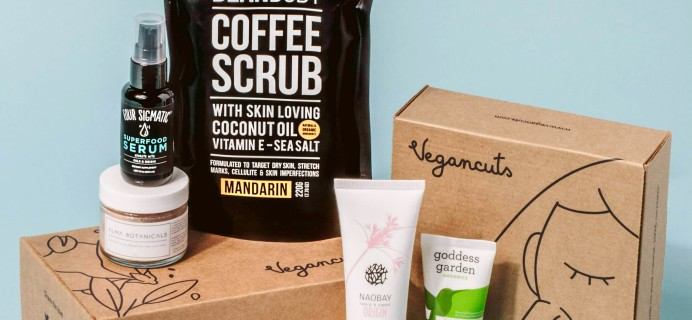 Vegancuts Beauty Box Black Friday Deal: Get 3 Months for $18.99 a Box!