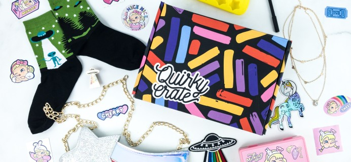 Quirky Crate July 2019 Subscription Box Review + Coupon