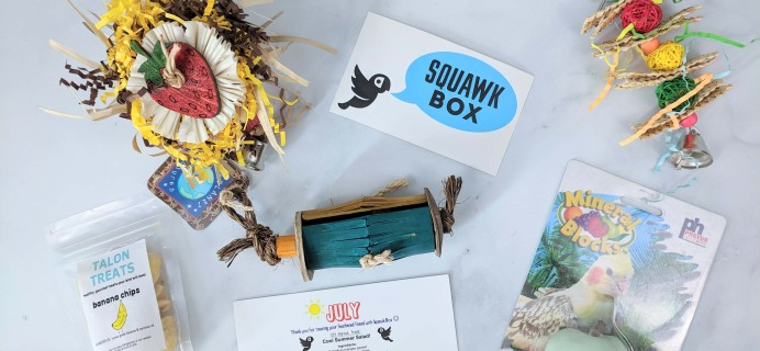 Squawk Box July 2019 Subscription Review