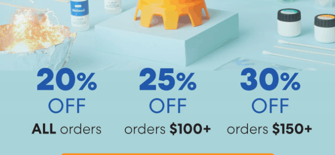 KiwiCo Sale: Up to 30% Off On All Orders + FREE Box Deal!