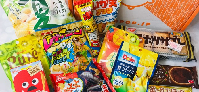 ZenPop Japanese Packs August 2019 Review – Sweets Pack