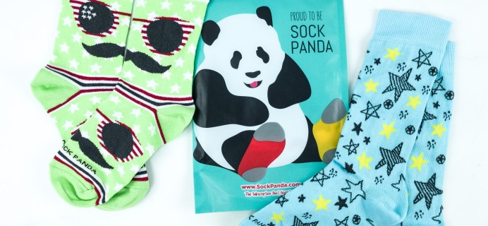 Sock Panda Tweens July 2019 Subscription Review + Coupon