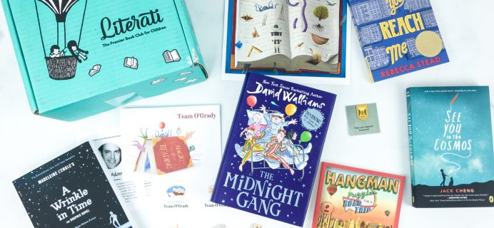 Literati Kids Club Phoenix Box Review + Coupon – July 2019 Welcome Box