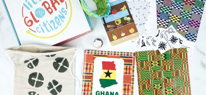Little Global Citizens July 2019 Subscription Box Review + Coupon – GHANA