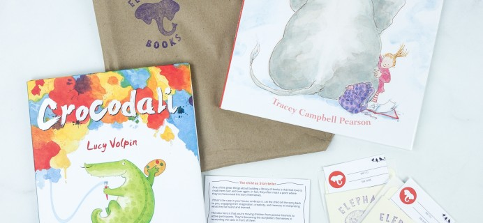 Elephant Books August 2019 Subscription Box Reviews – PICTURE BOOKS