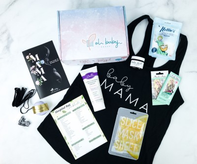 Oh Baby Boxes July 2019 Subscription Box Review