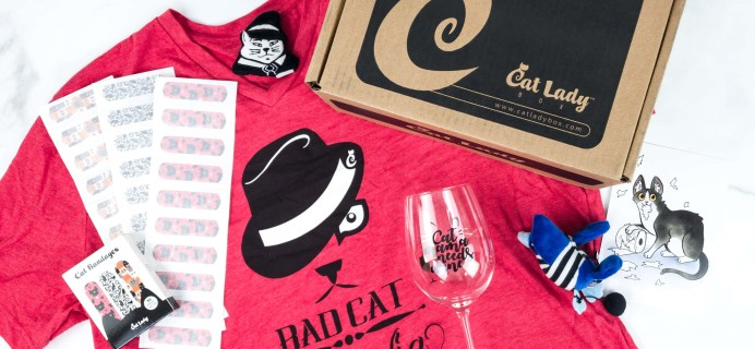 Cat Lady Box July 2019 Subscription Box Review + Coupon