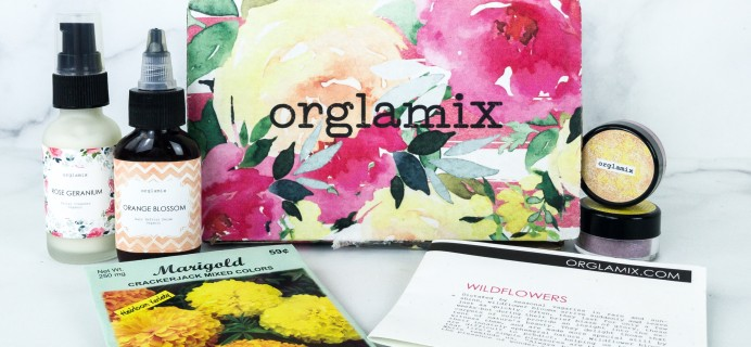 Orglamix July 2019 Subscription Box Review & Coupon