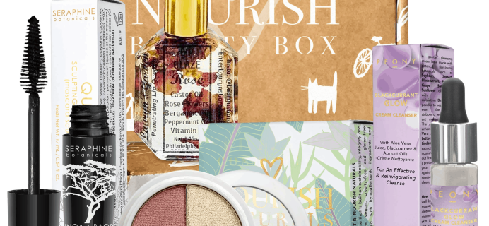 Nourish Beauty Box August 2019 Full Spoilers + Coupon!