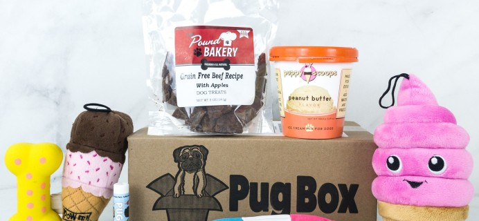 Pug Box July 2019 Subscription Box Review + Coupon!