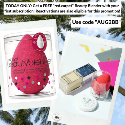 Tribe Beauty Box Flash Sale: FREE Beauty Blender – TODAY ONLY!