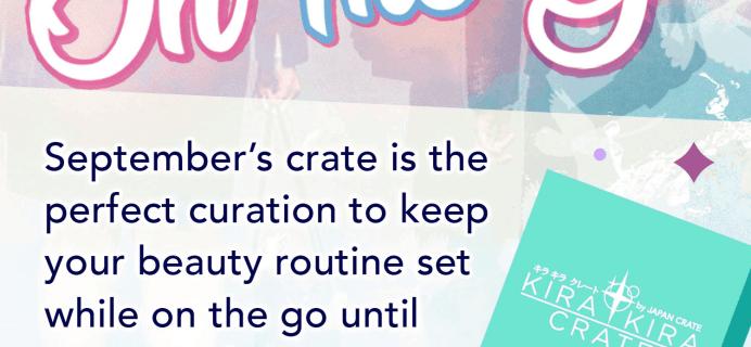 Kira Kira Crate September 2019 Spoiler #2 & Coupon!