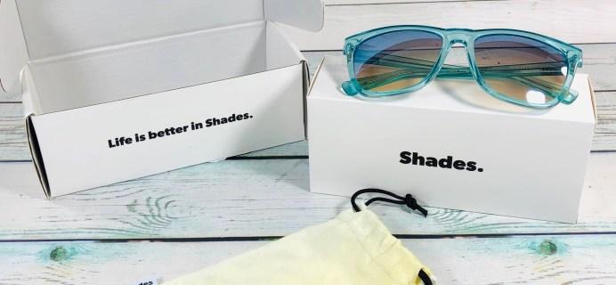 Shades Club July 2019 Subscription Box Review + Coupon