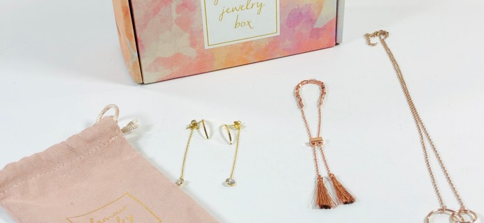 Glamour Jewelry Box July 2019 Subscription Box Review + Coupon