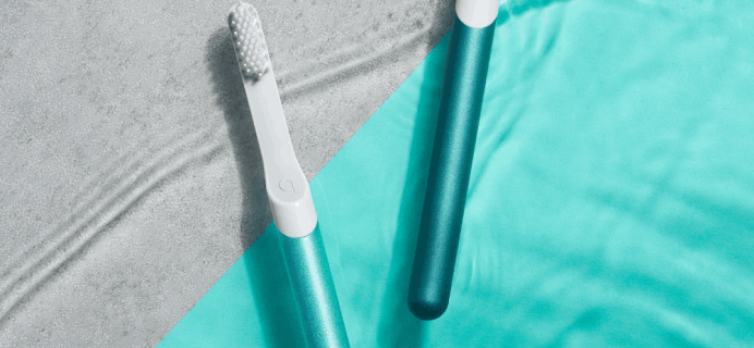 Quip Limited Edition Aqua Metal Toothbrush Available Now!
