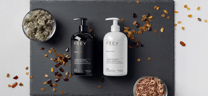 Frey Laundry Kits Available Now + FREE Trial Coupon!