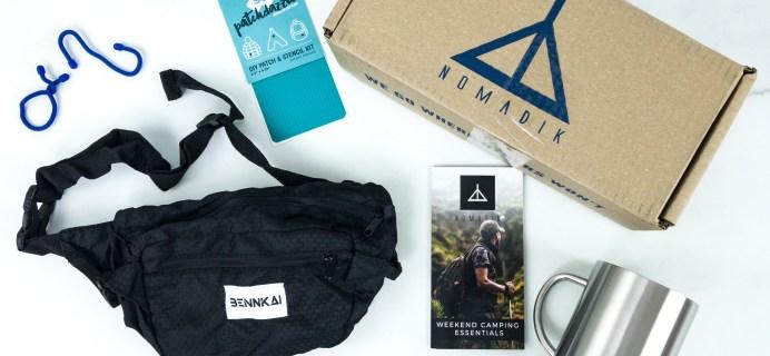 Nomadik July 2019 Subscription Box Review + Coupon