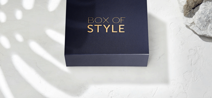 Box of Style by Rachel Zoe Winter Select Edit Full Spoilers + Coupon!
