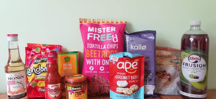 DegustaBox UK July 2019 Subscription Box Review + Coupon!