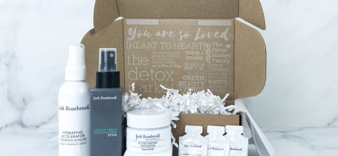 The Detox Box August 2019 Subscription Box Review