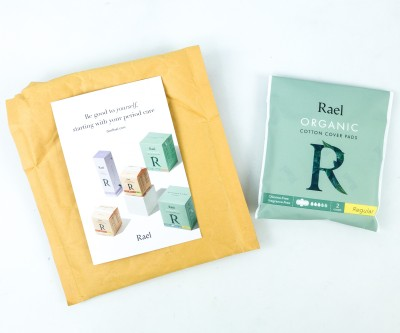 Rael Free Pad Review + Coupon!