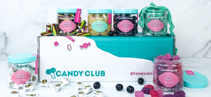 Candy Club Cyber Monday Coupon: 50% Off First Box + FREE Shipping!