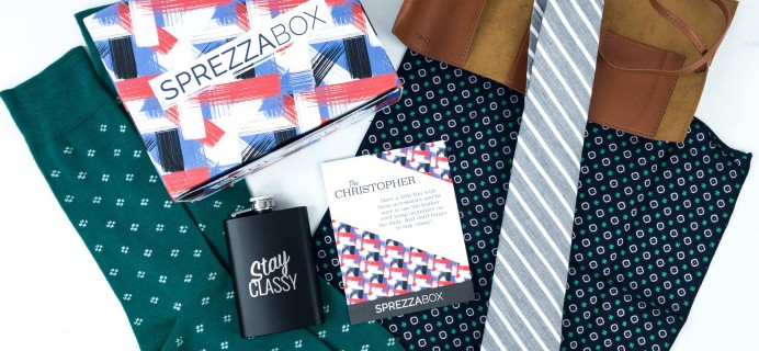 SprezzaBox August 2019 Subscription Box Review + Coupon