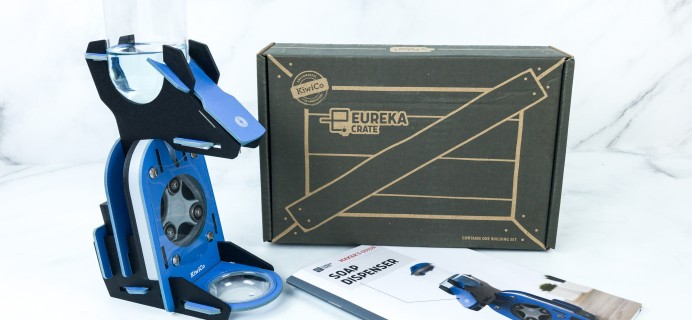 Eureka Crate Review + Coupon – SOAP DISPENSER