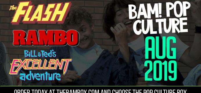 The BAM! Pop Culture Box August 2019 Franchise Spoilers!