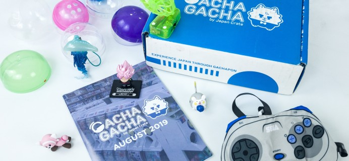 Gacha Gacha Crate August 2019 Subscription Box Review + Coupon