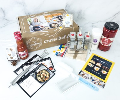 CrateChef Coupon: Start Your Subscription With The Waylynn Lucas Crate + FREE Cookbook!