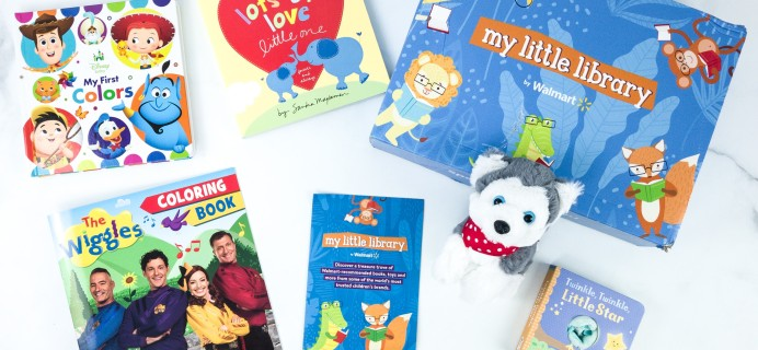 My Little Library August 2019 Box Review