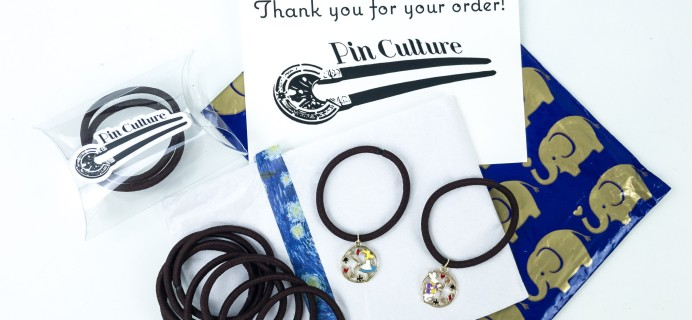 Pin Culture Subscription Box Review + Coupon – Deluxe Hair Tie Box