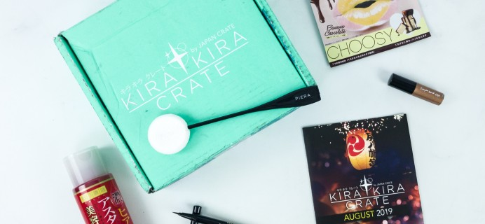 Kira Kira Crate August 2019 Subscription Box Review + Coupon