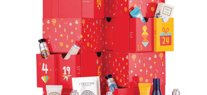 L'Occitane 2019 Luxury Beauty Advent Calendar Available Now + Full Spoilers!