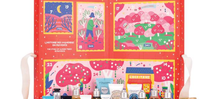 L'Occitane 2019 Signature Beauty Advent Calendar Available Now + Full Spoilers!