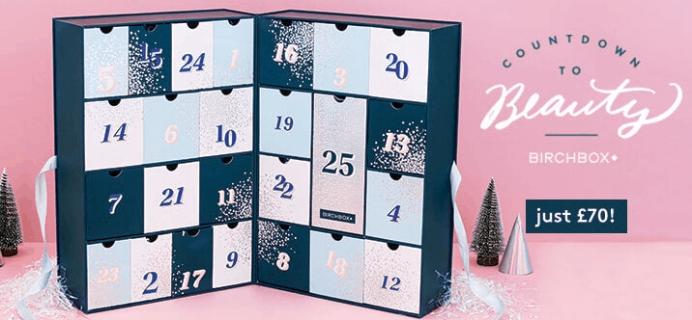 Birchbox UK 2019 Beauty Advent Calendar Available Now!