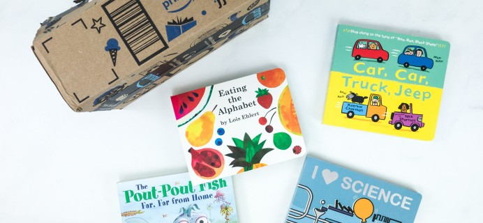 Amazon Book Box Kids Review + Coupon – AGE 3-5 August 2019