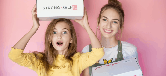 STRONG Selfie Box Spring 2021 Spoiler #1 + Coupon!