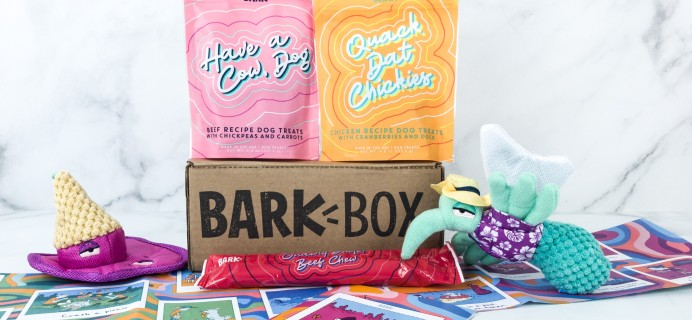 Barkbox August 2019 Subscription Box Review + Coupon
