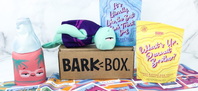Barkbox August 2019 Subscription Box Review + Coupon – Large Dog