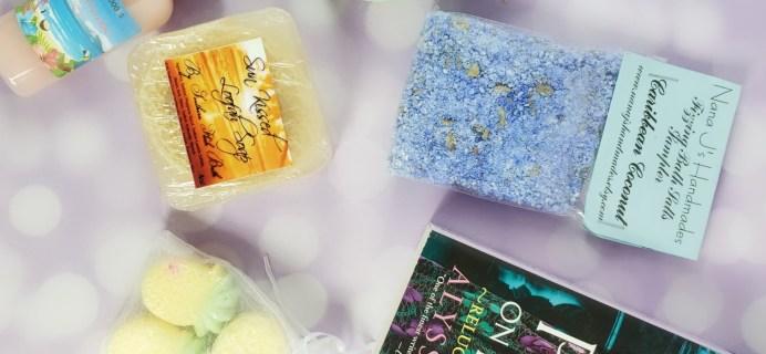 Bubbles & Books Subscription Box Review + Coupon – June 2019
