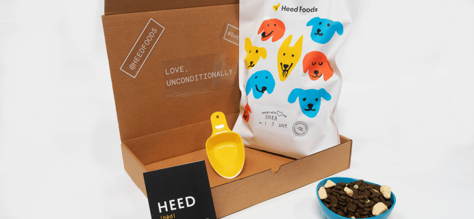 Heed Foods Black Friday Deal: Get 30% Off First Box Dog Food!
