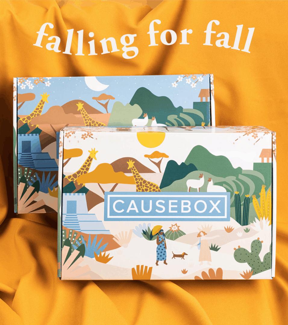 Causebox Fall 2019 Customization Time Market Open Coupon Hello Subscription