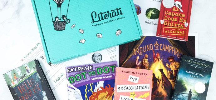 Literati Kids Club Phoenix Box Review + Coupon – August 2019