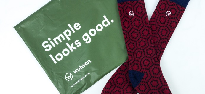 Wohven Socks Subscription August 2019 Review + Coupon!