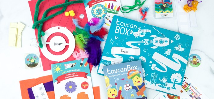 toucanBox August 2019 Subscription Box Review + Free Box Coupon