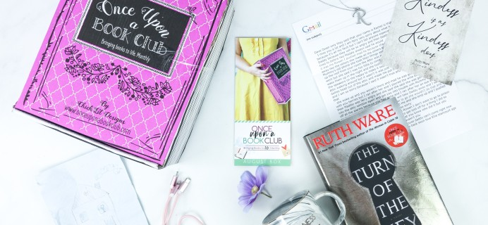 Once Upon a Book Club August 2019 Subscription Box Review + Coupon – Adult Box