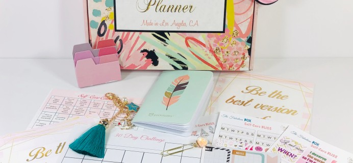 The Fabulous Planner July 2019 Subscription Box Review