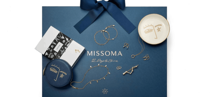 2019 Missoma Jewelry Advent Calendar Available Now + Full Spoilers!